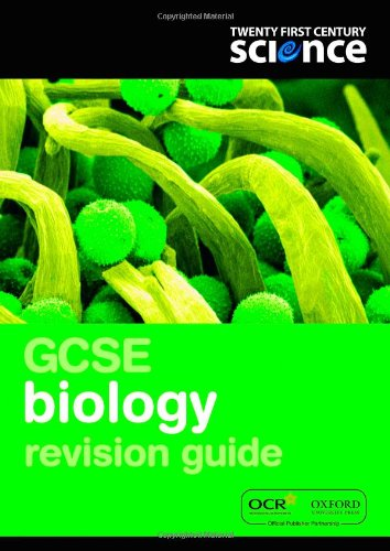 Twenty First Century Science: GCSE Biology Revision Guide By Martin Gardom-Hulme