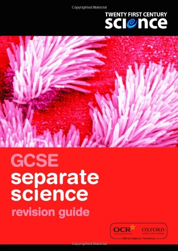 Twenty First Century Science: GCSE Separate Science Revision Guide By Nuffield/York