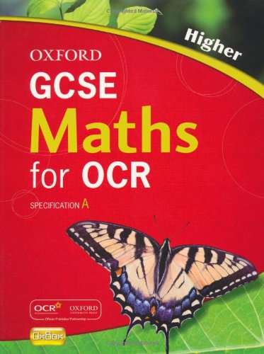 Oxford GCSE Maths for OCR: Higher Student Book By Jayne Kranat