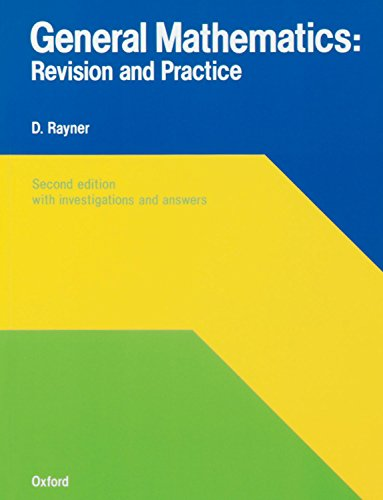 General Mathematics By David Rayner