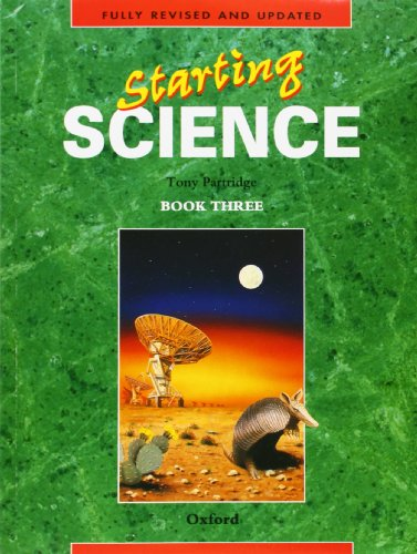 Starting Science: Student Book 3 By Tony Partridge
