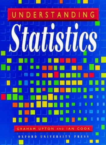 Understanding Statistics By Graham Upton