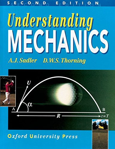 Understanding Mechanics By A. J. Sadler