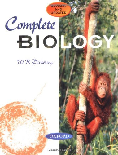 Complete Biology By Ron Pickering (St Bee's School, Cumbria)