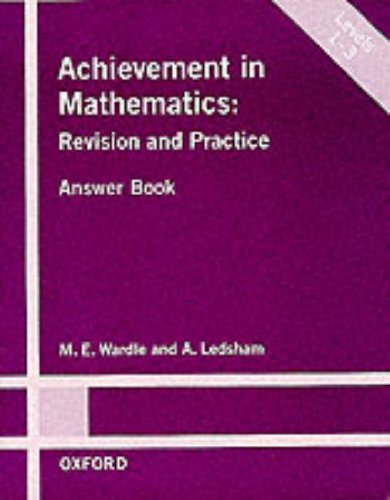 Achievement in Mathematics By A. Ledsham