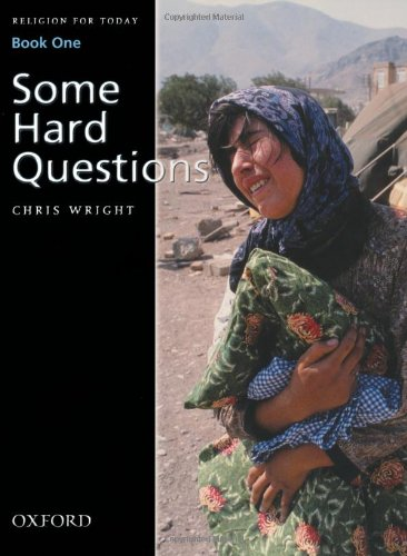 Religion for Today Book 1: Some Hard Questions By Chris Wright