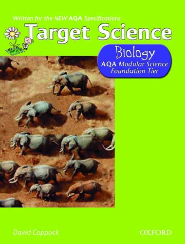 Target Science AQA Modular Science Biology Foundation Tier By David Coppock