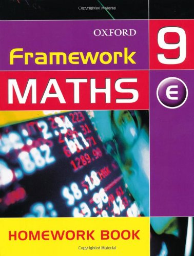 Framework Maths: Year 9: Extension Homework Book: Extension Homework Book Year 9 (Framework Maths Ks3) By David Capewell