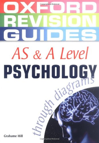 As And A Level Psychology Through Diagrams  Oxford    By Hill  Grahame Paperback 9780199150700