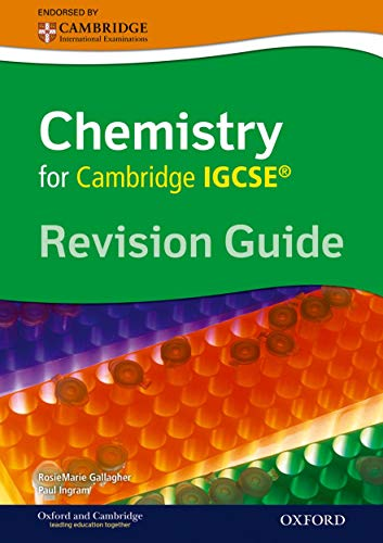 Cambridge Chemistry IGCSE Revision Guide By RoseMarie Gallagher