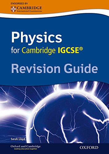 Cambridge Physics IGCSE Revision Guide von Sarah Lloyd