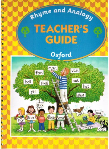 Oxford Reading Tree: Rhyme and Analogy: Teacher's Guide 1 By Usha Claire Goswami