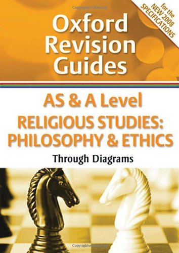 AS and A Level Religious Studies: Philosophy and Ethics Through Diagrams: Oxford Revision Guides by Greg Dewar