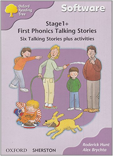 Oxford Reading Tree: Level 1+: First Phonics: CD-ROM: Single User Licence By Sherston Software