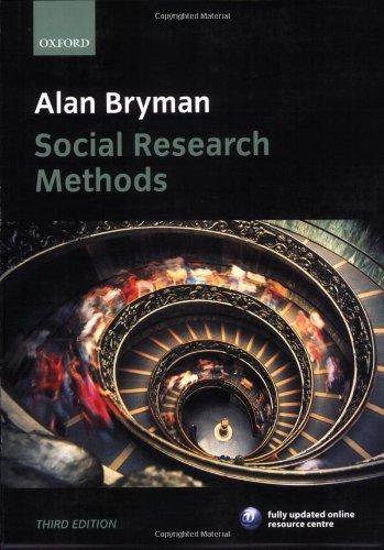 Social Research Methods By Prof. Alan Bryman