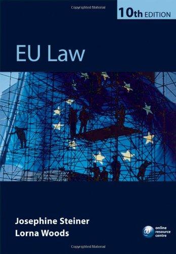 EU Law By Josephine Steiner