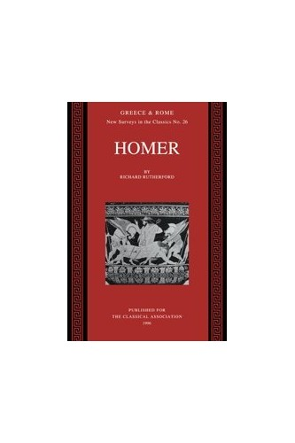 Homer By Richard Rutherford (University of Oxford)