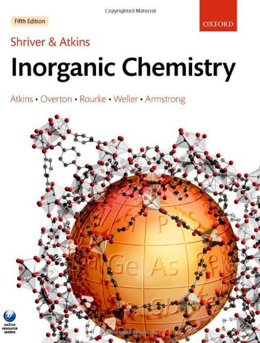 Shriver and Atkins' Inorganic Chemistry By Peter Atkins