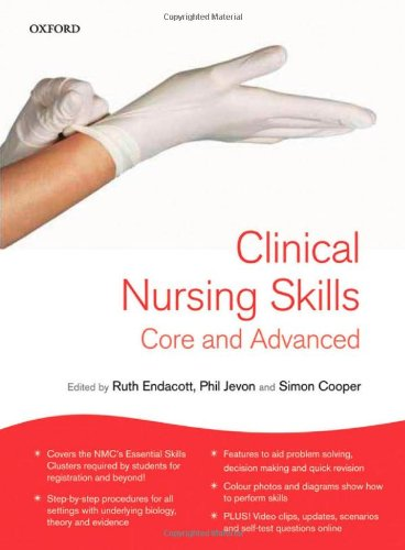 Clinical Nursing Skills By Edited by Ruth Endacott