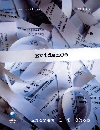 Evidence By Andrew L.-T. Choo