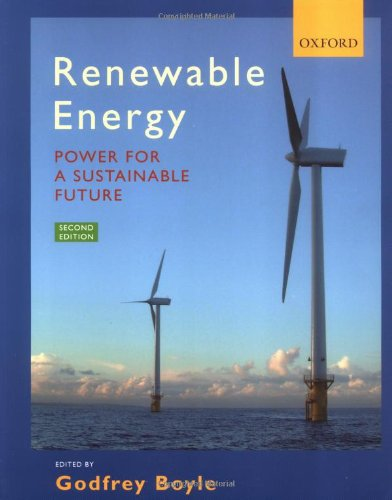 Renewable Energy : Power for a Sustainable Future Edited by Godfrey Boyle