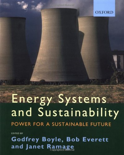 Energy Systems and Sustainability Edited by Godfrey Boyle