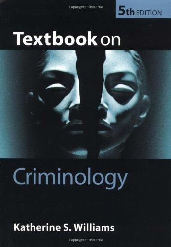 Textbook on Criminology By Katherine  Williams