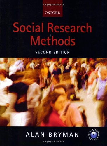 Social Research Methods By Prof. Alan Bryman