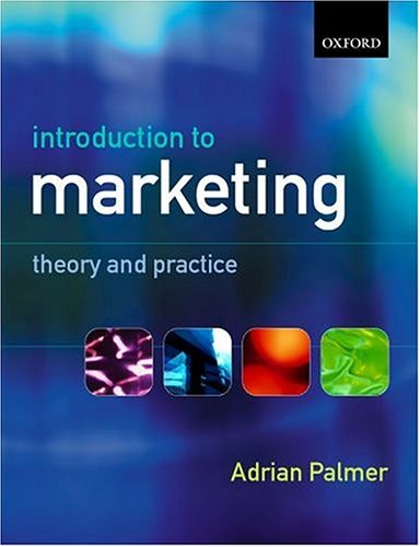 Introduction to Marketing By Professor Adrian Palmer