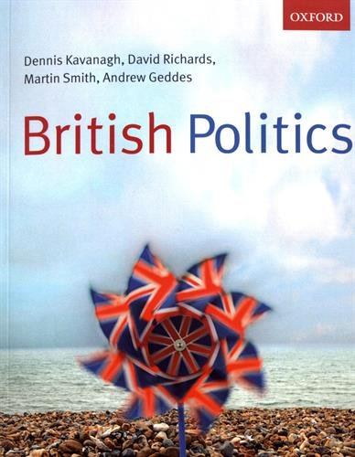 British Politics By Dennis Kavanagh University Of