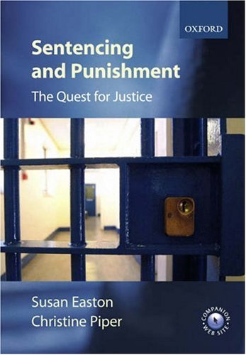 Sentencing and Punishment By Susan Easton