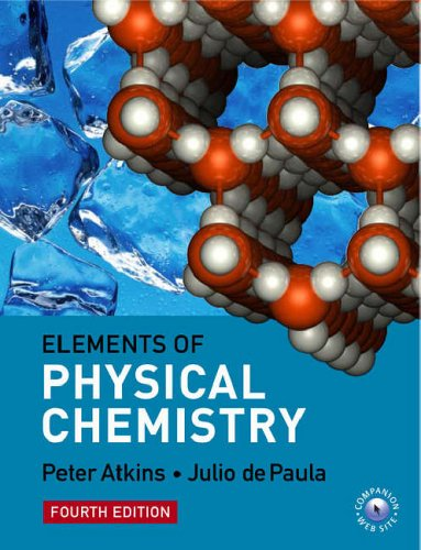 Elements of Physical Chemistry By Peter W. Atkins