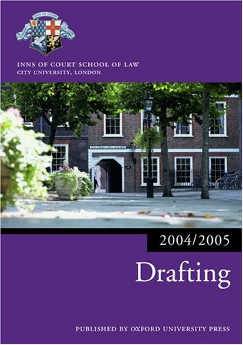 Drafting By Inns of Court School of Law