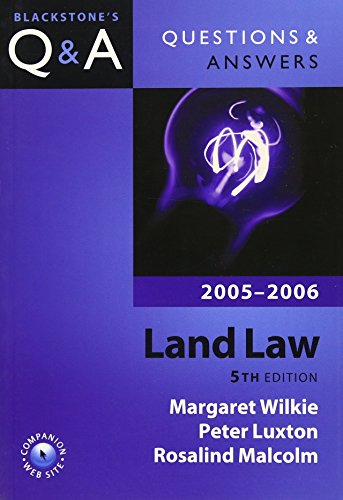 Land Law By Margaret Wilkie