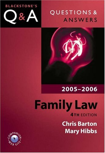 Family Law By Chris Barton