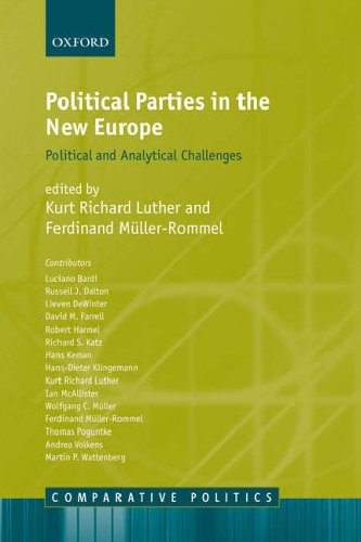 Political Parties in the New Europe By Edited by Kurt Richard Luther