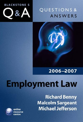 Employment Law By Richard Benny