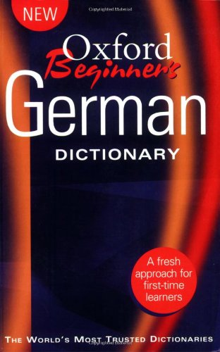 Oxford Beginner's German Dictionary By Oxford University Press
