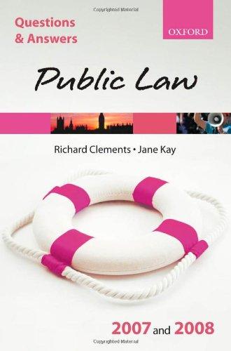 Public Law By Richard Clements