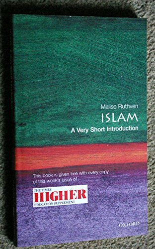 Islam a Very Short Introduction By Malise Ruthven