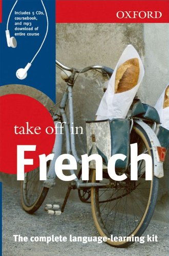 Oxford Take Off In French Book & CDs By Oxford Dictionary