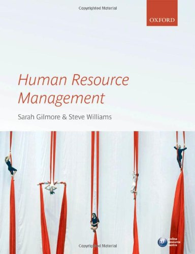 Human Resource Management By Edited by Sarah Gilmore