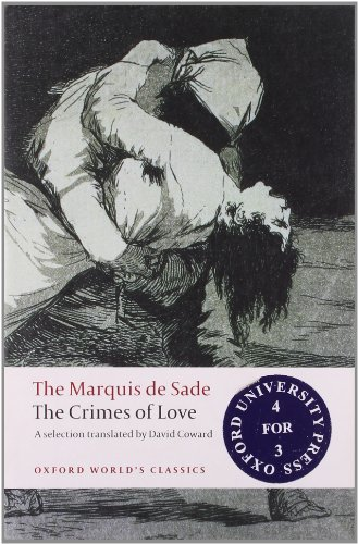 The Crimes of Love By Marquis de Sade