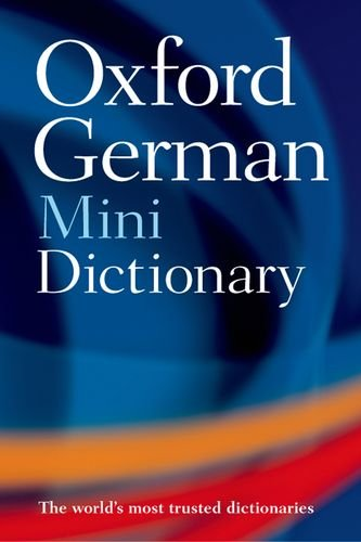 Oxford German Mini Dictionary By Created by Oxford University Press
