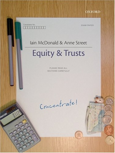 Equity and Trusts Concentrate by Iain McDonald