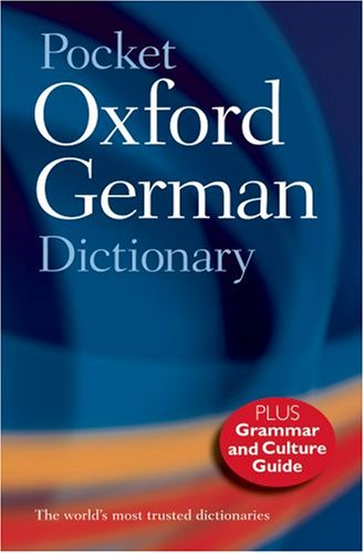 Pocket Oxford German Dictionary By Edited by M Clark