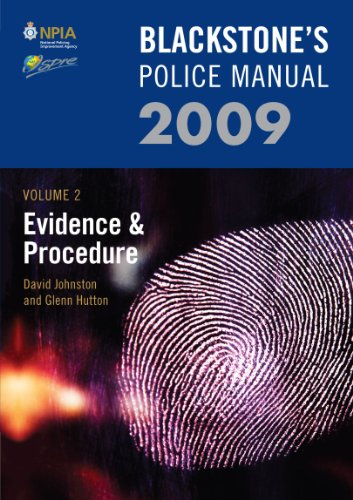 Evidence and Procedure: 2009: v. 2 by David Johnston
