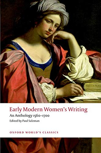 Early Modern Women's Writing: An Anthology 1560-1700 by Dr Paul Salzman