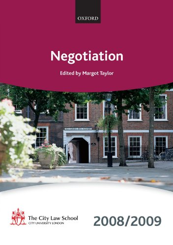Negotiation By The City Law School