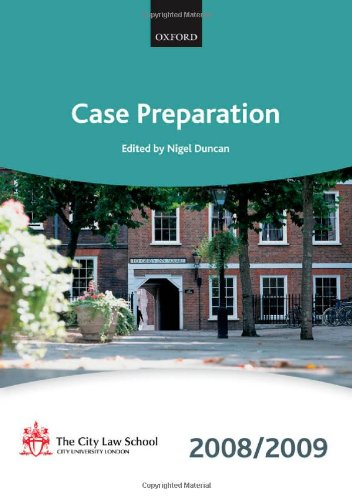 Case Preparation By The City Law School